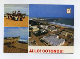 CP Béninoise Multivues Utilisée. Allô Cotonou. Bénin (ex-Dahomey) Photo Hazoumé, Editions SAPEC. Lire Description - Benin