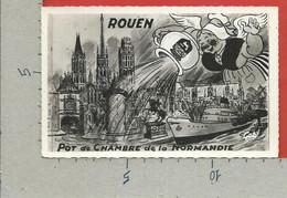 CARTOLINA NV FRANCIA - ROUEN - Pot De Chambre De La Normandie - 9 X 14 - Rouen
