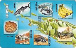 New Caledonia - OPT - Caledonia Puzzle 1/6, SC7, 03.1999, 140Units, 10.000ex, Used - New Caledonia