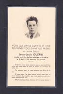 Image Photo Souvenir Deces Jeune Soldat Jean Louis Guerin 21 Ans Ville Sur Saulx Mort Pour La France Guerre D' Algerie - Devotion Images