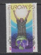 Europa Cept 1995 Austria 1v ** Mnh (50118K) ROCK BOTTOM - Europa-CEPT