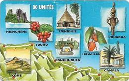 New Caledonia - OPT - Caledonia Puzzle 2/6, SC7, 05.1999, 80Units, 20.000ex, Used - New Caledonia