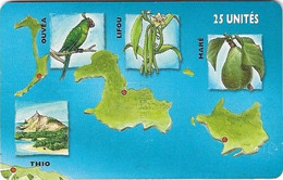 New Caledonia - OPT - Caledonia Puzzle 3/6, SC7, 03.1999, 25Units, 60.000ex, Used - New Caledonia