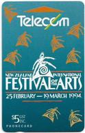 New Zealand - NZT (GPT) - Event Cards Onwards '92 - Festival Of The Arts, 1994, 5$, 16.500ex, Used - Nuova Zelanda