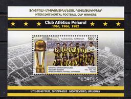 ARMENIE - ARMENIA - B/F - M/S - FOOTBALL - SOCCER - 2019 - CLUB ATLETICO PENAROL - MONTEVIDEO - - Armenia