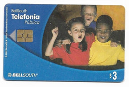 Ecuador, BellSouth Used Chip Phonecard, No Value, Collectors Item, # Ecuador-26 - Ecuador