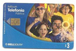 Ecuador, BellSouth Used Chip Phonecard, No Value, Collectors Item, # Ecuador-27 - Ecuador