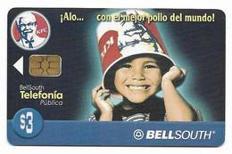 Ecuador, BellSouth Used Chip Phonecard, No Value, Collectors Item, # Ecuador-28 - Ecuador