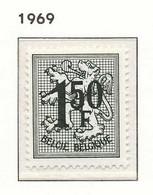 [150718]SUP//**/Mnh-N° 1518PT, Papier Terne, 1,50F Lion Héraldique, SNC - 1951-1975 Heraldic Lion