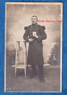 CPA Photo - VERDUN ? - Portrait D'un Militaire Du 150e Régiment - Vers 1910 1914 - Soldat Uniforme Pose Baïonnette - Uniformes
