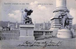 Liège Exposition Universelle 1905 - Entrée Du Pont De Fragnée (bleu) - Liege