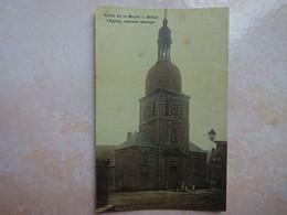 CPA 08 BRAUX L'église Monument Historique - Carte Toilée - France