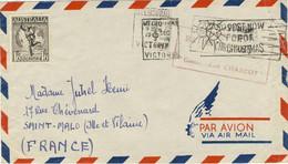 Lettre Du 6/12/1949 Du Commandant Charcot Melbourne 6 De 1949 TAAF Antarctique Expéditions Polaires Francaises - Terres Australes Et Antarctiques Françaises (TAAF)