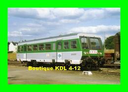 RU 0298 - Autorail A2E Soulé - X 97152 Au Dépôt - CARHAIX - Finistère - RB - Carhaix-Plouguer
