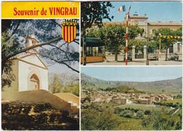 66. Gf. Souvenir De VINGRAU. 3 Vues. 6347 - Autres Communes