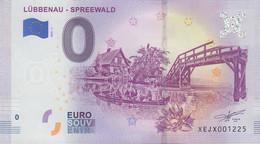 GERMANY O Euro Schein Lübbenau (Spreewald) - [17] Falsi & Campioni