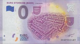 GERMANY O Euro Schein Burg Storkow ( Mark) - [17] Falsi & Campioni