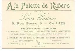 A LA PALETTE DE RUBENS . LOUIS PASTOUR . CANNES - Pubblicitari