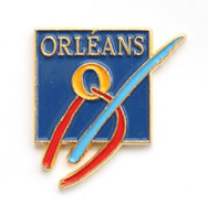 Pin's ORLEANS (45) - Le Logo Abstrait - J676 - Cities
