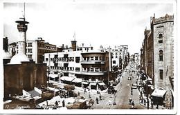 LIBAN - BEYROUTH - RUE WEYGAND - BELLE ANIMATION - ANNEES 50/60 - PHOTO SPORT BAB EDRISS SOUK SEYOUR - Lebanon