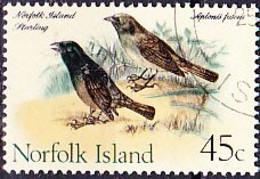 Norfolkinsel - Dunkler Inselstar (Aplonis Fusca) (MiNr: 117) 1970 - Gest Used Obl - Norfolk Island