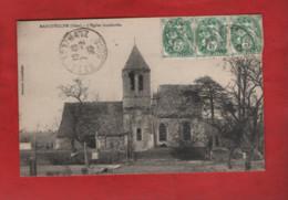 CPA - Marquéglise - L'Eglise Bombardée - Autres Communes
