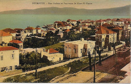 LIBAN - BEYROUTH - RUE GRAHAM - PANORAMA MINET EL HUSNE  - ANNEES 20/30 -  BAB EDRISS RUE WEYGAN - Libanon