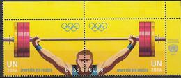 2016 UNO Wien M 920-.3  **MNH   Olympische Sommerspiele, Rio De Janeiro - Neufs