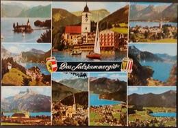 Ak  Österreich - Salzkammergut - Bad Ischl - Gmunden - Schloß Ort - St. Wolfgang - St. Gilgen - Traunkirchen........ - Bad Ischl
