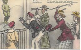BRUXELLES - MANNEKEN - PIS - CARTE INEDITE - POSTEE EN 1922 - TRES BON ETAT - Berühmte Personen
