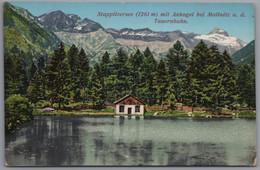 Mallnitz An Der Tauernbahn - Stappitzersee Mit Ankogel Im Seebachtal - Mallnitz