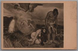 Künstlerkarte - A. Kampf Verlorenes Paradies - Künstlerkarten