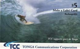 *IS. TONGA* - Scheda Usata - Tonga