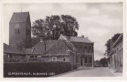Oldehove Gemeentehuis Oude Fotokaart J2260 - Paesi Bassi