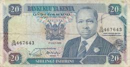 BANCONOTA KENIA 20 SHILLING VF (ZX1357 - Kenia