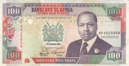BANCONOTA KENIA 100 SHILLING EF (ZX1361 - Kenia