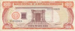 BANCONOTA REPUBBLICA DOMINICANA 100 VF (ZX1363 - República Dominicana
