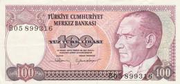 BANCONOTA TURCHIA 100 EF (ZX1366 - Turchia