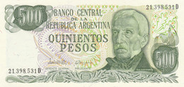 BANCONOTA  ARGENTINA 500 PESOS UNC (ZX1371 - Argentina