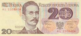 BANCONOTA POLONIA 20 1982 UNC (ZX1384 - Polonia