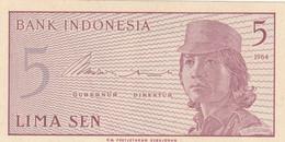 BANCONOTA INDONESIA 5 UNC (ZX1410 - Indonesia