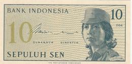 BANCONOTA INDONESIA 10 UNC (ZX1411 - Indonesia