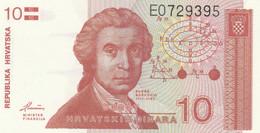BANCONOTA 10 DINARI CROAZIA UNC (ZX1426 - Kroatien