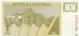 BANCONOTA 1 SLOVENIA UNC (ZX1444 - Eslovenia