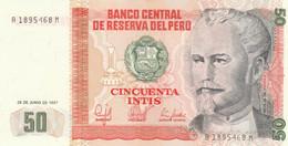 BANCONOTA PERU 50 INTIS UNC (ZX1510 - Peru