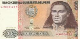 BANCONOTA PERU 500 INTIS UNC (ZX1520 - Peru