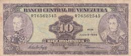 BANCONOTA VENEZUELA 10 VF (ZX1525 - Venezuela