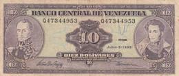BANCONOTA VENEZUELA 10 VF (ZX1526 - Venezuela