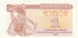 BANCONOTA UCRAINA 1 UNC (ZX1532 - Ucrania