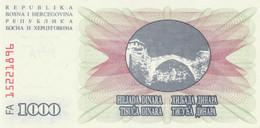 BANCONOTA 10000 DINARI BOSNIA ERZEGOVINA VF (ZX1535 - Bosnia Y Herzegovina